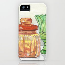 Colored Glass iPhone Case