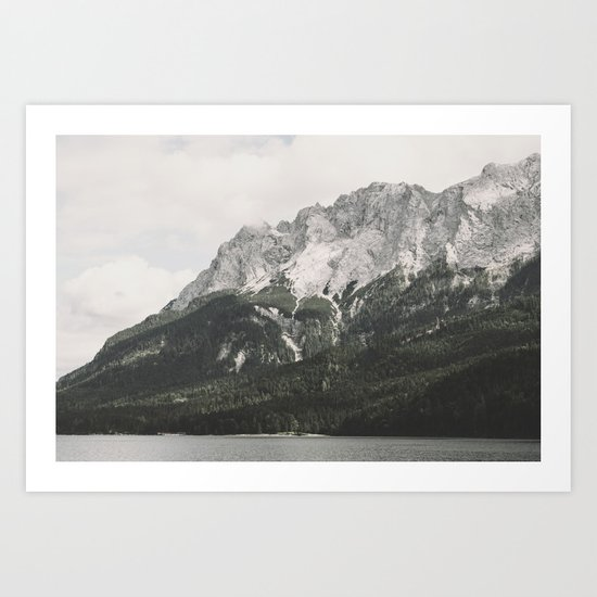 Such great Heights - Landscape Photography Art Print