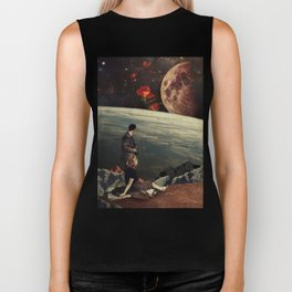 The Roses Came Biker Tank