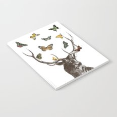 The Stag and Butterflies Notebook