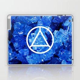 Sapphire Candy Gem Laptop & iPad Skin
