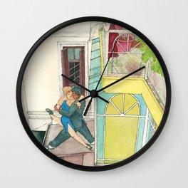 Calle Ecuador, a daydream tango Wall Clock