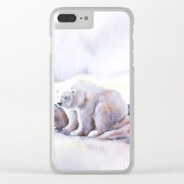 Polar Wait Clear iPhone Case
