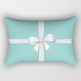 Blue Ribbon Rectangular Pillow