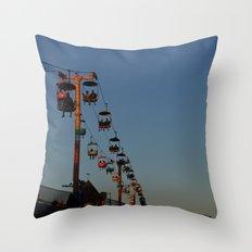 Sky Ride Throw Pillow