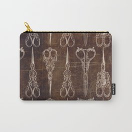 Steampunk Scissors Carry-All Pouch