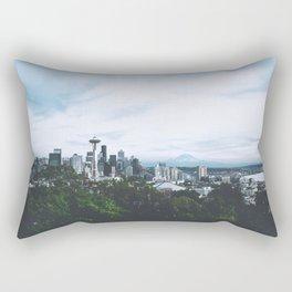 Seattle afternoon views Rectangular Pillow