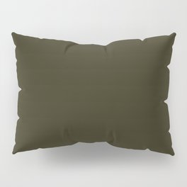 Home Sweet Home ~ Dark Olive Green Pillow Sham