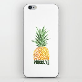 Pineapple lovers 'Prickly Bitch' series iPhone Skin