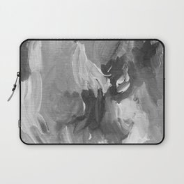 Soft Grey Abstract Laptop Sleeve