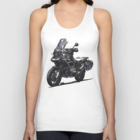 bmw Tank Tops featuring BMW R1200GS by Ernie Young