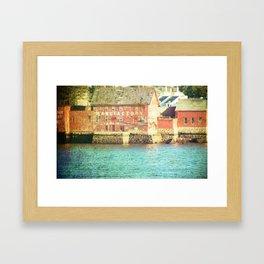 Manufactory II Framed Art Print