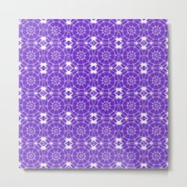 Purple Pinwheels Metal Print