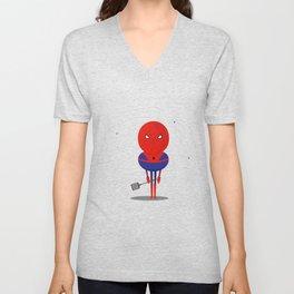 Spider man: My bug hero! Unisex V-Neck