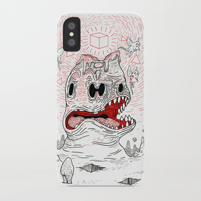 Triangles Are Tasty iPhone Case