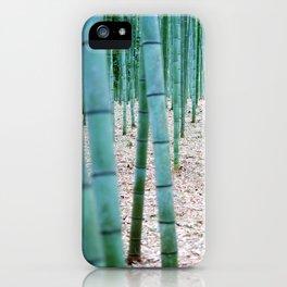 The Bamboo Grove, Arashiyama, Kyoto iPhone Case