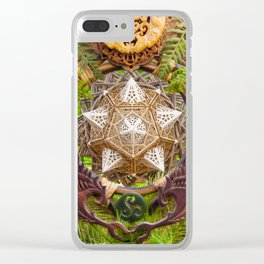 Earth Dragon Clear iPhone Case