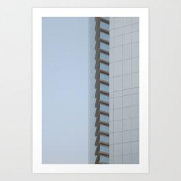 Emirate Towers Dubai Art Print