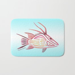Hogfish Bath Mat