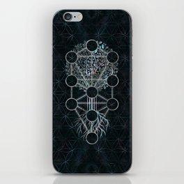 Kabbalah The Tree of Life - Etz Hayim iPhone Skin