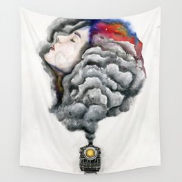 The Midnight Train Wall Tapestry