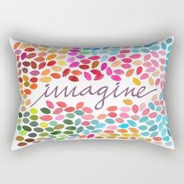 Imagine [Collaboration with Garima Dhawan] Rectangular Pillow