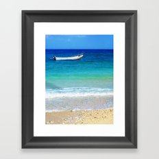 From South sea island, Fiji Framed Art Print