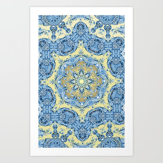 Turkish Mandala Art Print