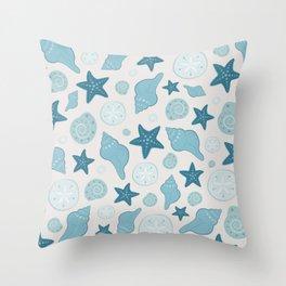 SHELL - Shore Throw Pillow