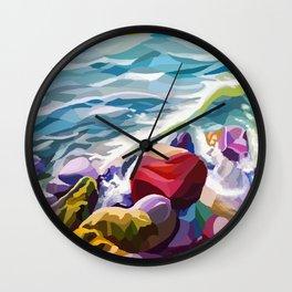Sea vibes Wall Clock