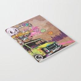 Pusher Carcophagus Notebook