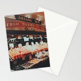 Pikes Place Market, Seattle, Washington Stationery Cards