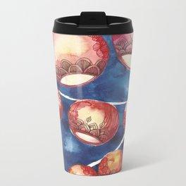 Chinese Lanterns Metal Travel Mug