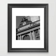 'GRAND CENTRAL Framed Art Print