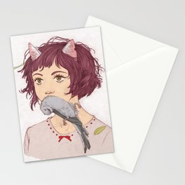 Nekomimi Stationery Cards