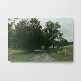 Rocky Driveway Metal Print
