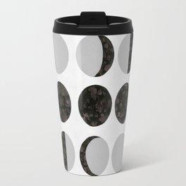 Moon Phases - White Travel Mug