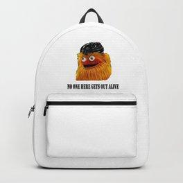 Gritty Mascot Backpack
