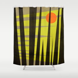 Bright Nite Shower Curtain