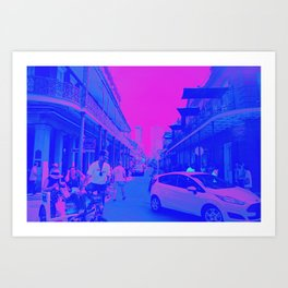 Cotton Candy NOLA Art Print