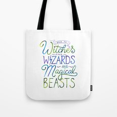 AVPM - Back To Hogwarts Tote Bag