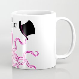 A very polite french pink octopus Coffee Mug