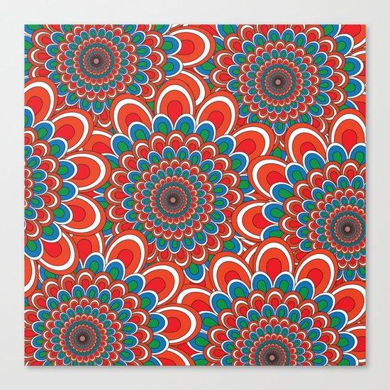 Pattern F Canvas Print