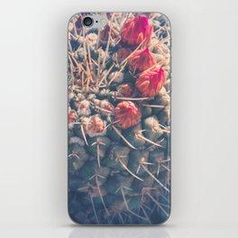 Dreamy Cactus Buds iPhone Skin
