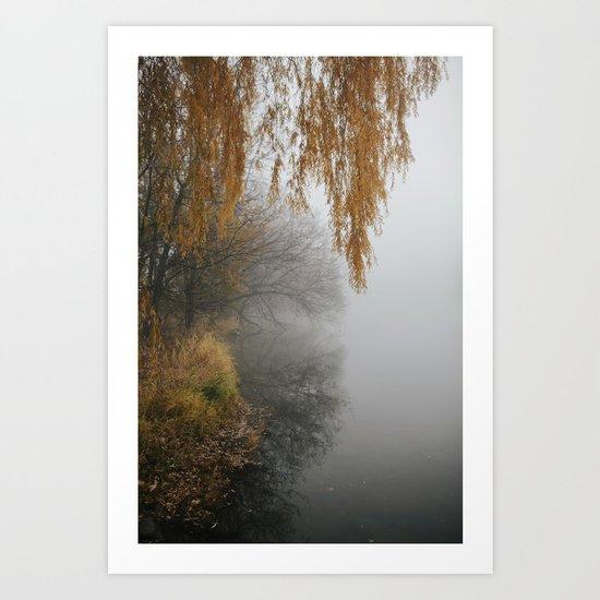 Autumn Fog 1 Art Print