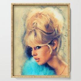 Brigitte Bardot Serving Tray