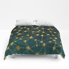 Stars Map Comforters