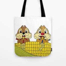 Chip and Dale Tote Bag