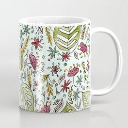 Tropical Rainforest pattern Coffee Mug