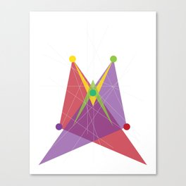 Double Arrow Trapezoid Canvas Print